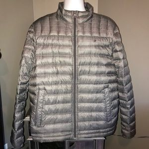 Tommy Hilfiger Jackets & Coats - Tommy Hilfiger Gray Down Puffer Coat XL